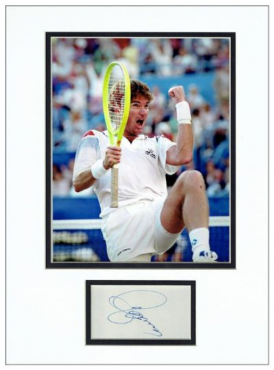 Jimmy Connors Autograph Signed Photo For Sale Tennis